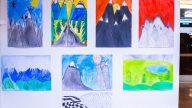 Výstava výtvarných prác na festivale Vysoké hory